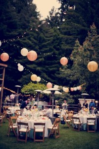 Garden Party Farm Wedding