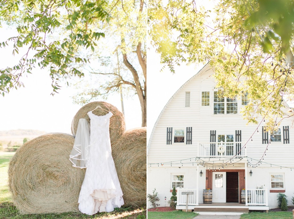 Rustic barn wedding Virginia